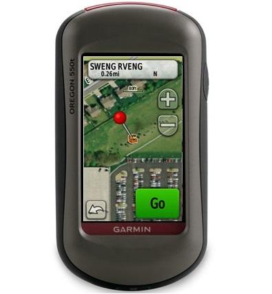 Garmin GPS Oregon 550t