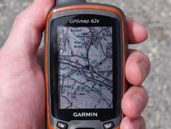 Máy định vị Garmin GPS MAP 62s