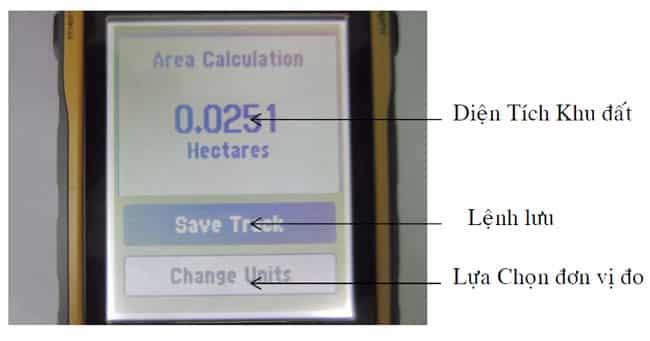 Diện-tích-lô-đất-trên-màn-hình-Máy-định-vị-GPS-Garmin-Etrex-30