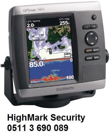 Máy định vị vệ tinh và đo sâu Garmin GPSMAP 541s