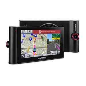 Máy định vị GPS dẫn đường ô tô Garmin nüviCam™ LMTHD