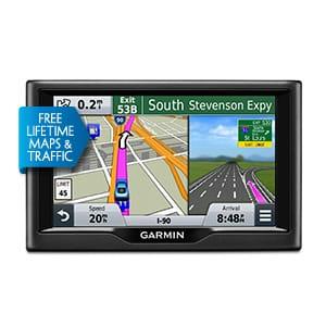 Thiết bị định vị GPS dẫn đường ô tô Garmin nüvi® 57LMT