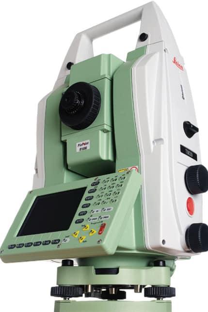 """Máy toàn đạc điện tử Leica TS-02 5"""""""