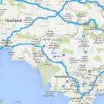Vượt biên với máy định vị GPS Garmin