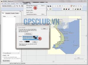Xem Unit ID của máy định vị GPS Garmin