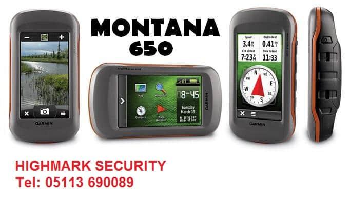 Máy Định Vị GPS Garmin Montana 650/680