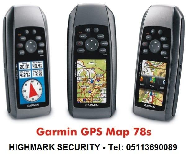Đo diện tích thông dụng bằng máy định vị GPS cầm tay Garmin Map 78s