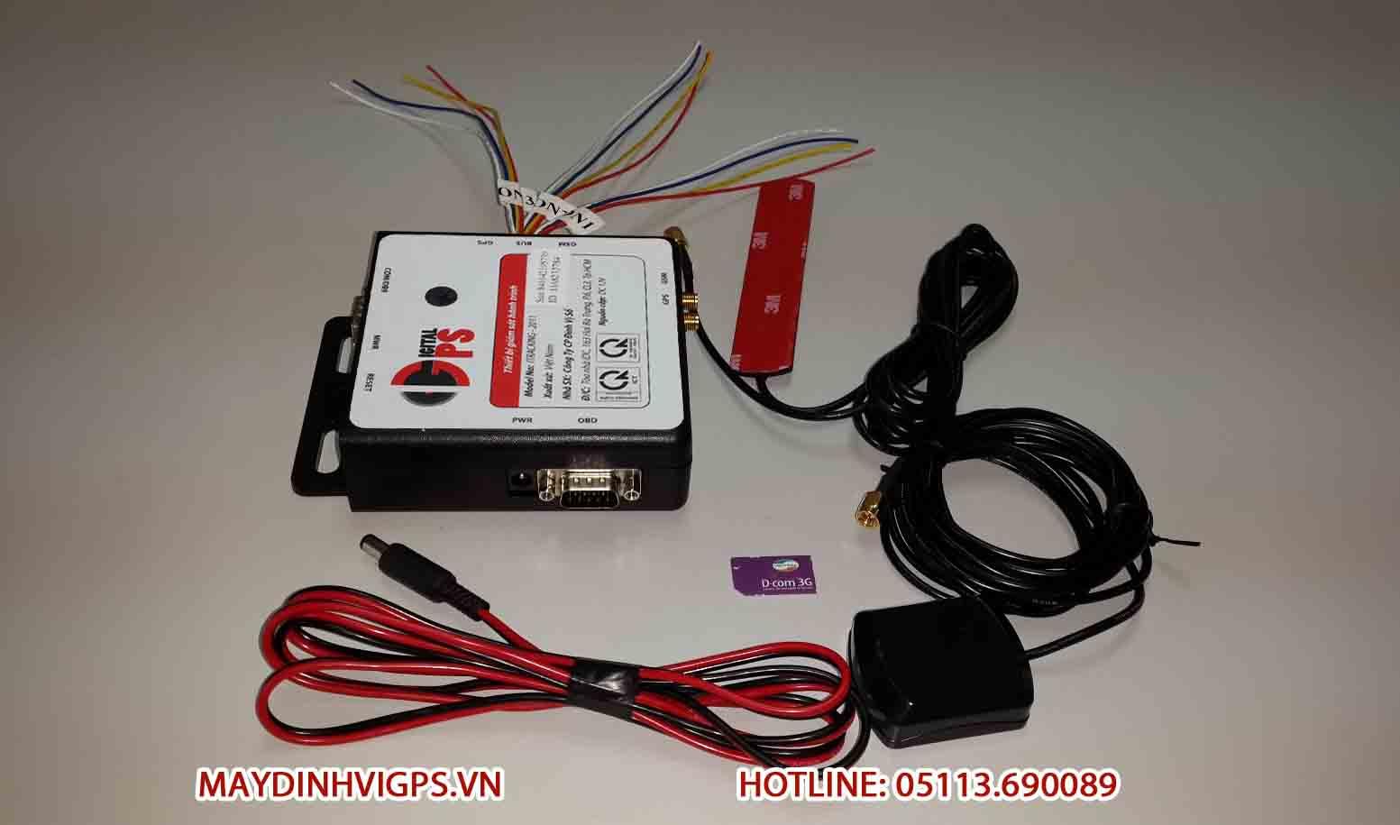 Thiết bị giám sát hành trình ô tô iTracking 2011