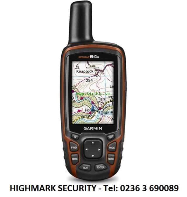 Hướng dẫn chọn máy định vị vệ tinh Garmin GPSMAP64S cho công việc