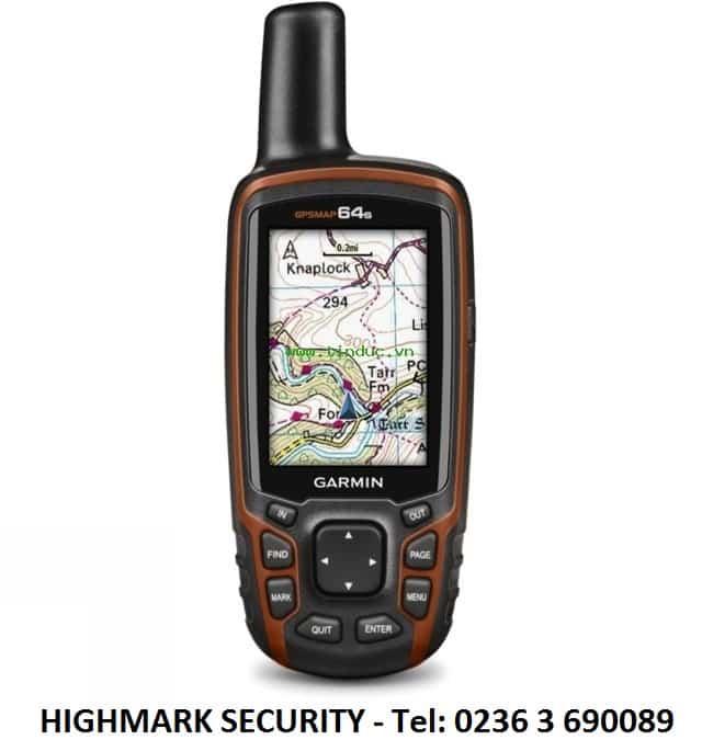 Sử dụng máy định vị vệ tinh GPS Garmin để tính diện tích