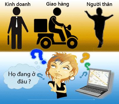 Giải pháp định vị GPS quản lý giám sát nhân viên kinh doanh, giao hàng