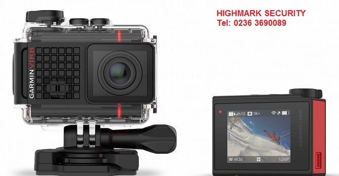 Hãng định vị Garmin trình làng máy quay hành trình 4K, có GPS