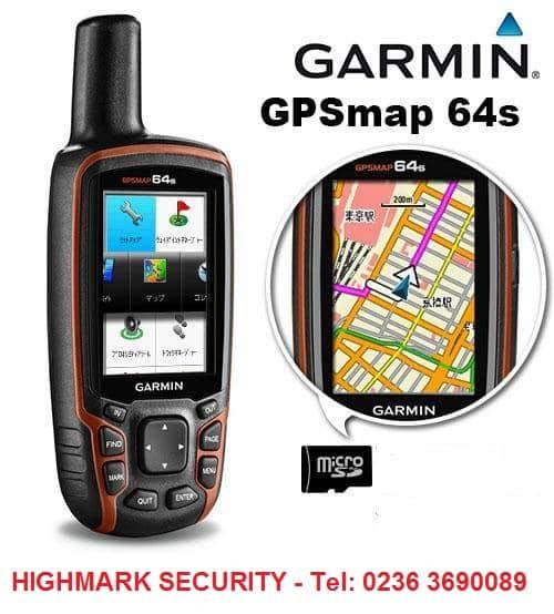 Máy định vị GPS cầm tay Garmin GPSMAP 64s đa năng