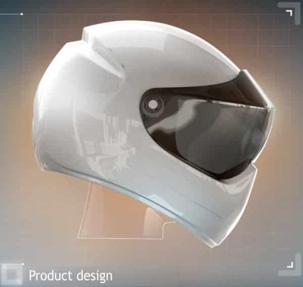 Mũ bảo hiểm sẽ tích hợp định vị GPS và Android giống Google Glass?