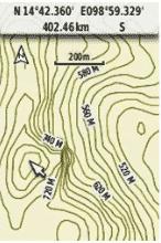 Khám phá địa hình với GARMIN GPS 64SC site survey